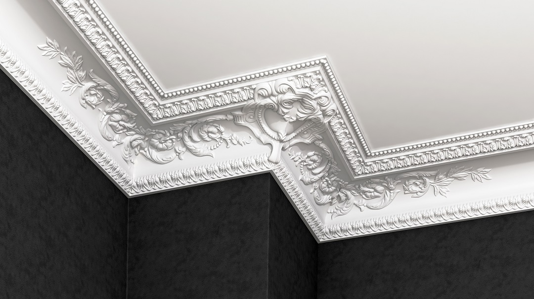 New exquisite ceiling mouldings GP-81 and GP-82 | glanzepol