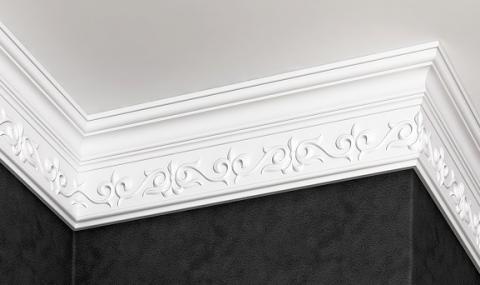 Polystyrene ceiling moulding Glanzepol GP-77