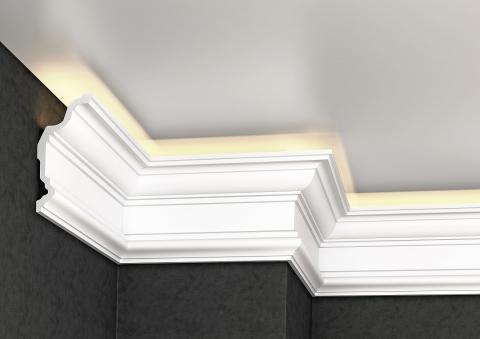 Polystyrene ceiling moulding Glanzepol GP-80