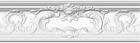 Polystyrene ceiling moulding Glanzepol GP-86